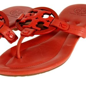 23d15caa6e4a Tory Burch Shoes - Tory Burch Miller 2 Orange Flip Flop Sandal